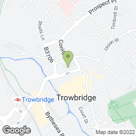 Map of Vine for PAT in Trowbridge, wiltshire