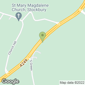 Map of Stockbury Valley Boarding Kennels in Stockbury, Sittingbourne, kent