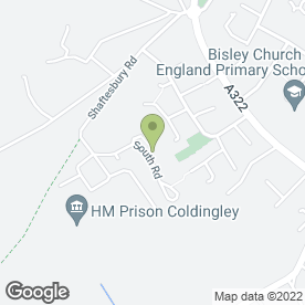 Map of Patersons Property Maintenance in Bisley, Woking, surrey