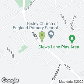Map of Wenman Contractors in Bisley, Woking, surrey