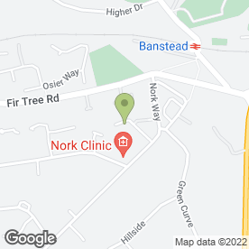 Map of Nork Motor Engineers in Banstead, surrey