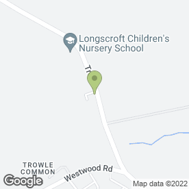 Map of Longscroft Children`s Nursery in Trowbridge, wiltshire
