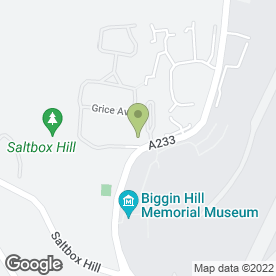 Map of Costcutter in Biggin Hill, Westerham, kent