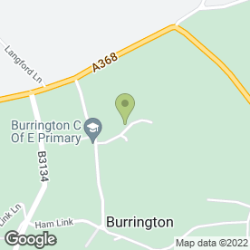 Map of RED BARN CARPENTRY in Burrington, Bristol, avon