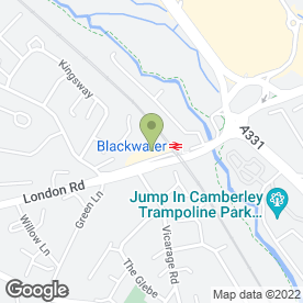 Map of Turner & Co in Blackwater, Camberley, surrey