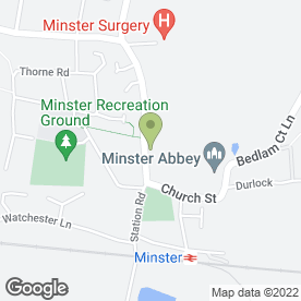 Map of Abbey Dental Care in Minster, Ramsgate, kent