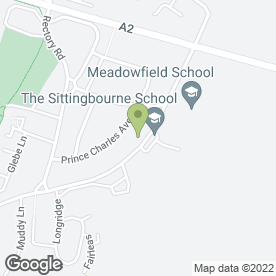 Map of Little Moonbeams Day Nursery in SITTINGBOURNE, kent