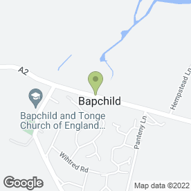 Map of GH Building Services in Bapchild, Sittingbourne, kent