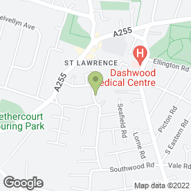Map of Thanet Fibreglass Roofing in Ramsgate, kent