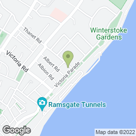 Map of Comfort Inn Ramsgate in Ramsgate, kent