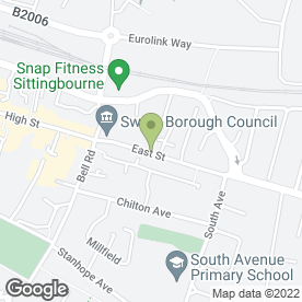 Map of Creating Cakes in Sittingbourne, kent