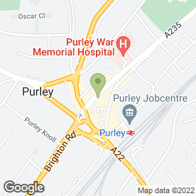 Map of Keith Harris Carpets & Flooring in Purley, surrey