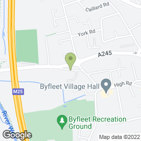 Map of Cartronics® GB Ltd in West Byfleet, surrey