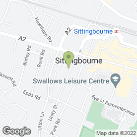 Map of Poshe in SITTINGBOURNE, kent