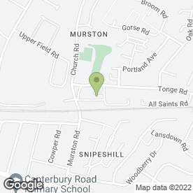 Map of Sues Harmony Hypnotherapy in Sittingbourne, kent