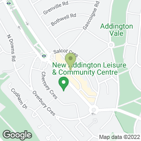 Map of Heavenly Beauty in New Addington, Croydon, surrey