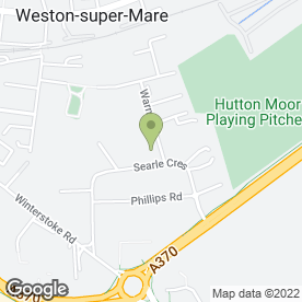 Map of Peugeot - Howards - Weston in Weston-super-Mare, avon