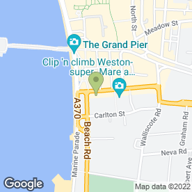 Map of Bristol & Bath Social Group in Weston-Super-Mare, avon