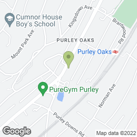 Map of Shurgard Self Storage - South Croydon in South Croydon, surrey