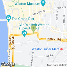 Map of Gloden Tanning & Beauty in WESTON-SUPER-MARE, avon