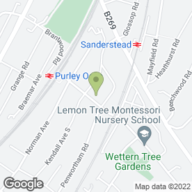 Map of Avondale Express Removals in South Croydon, surrey