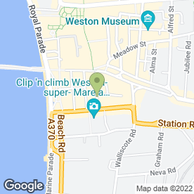 Map of Fresh N Tasty Bites in Weston-Super-Mare, avon
