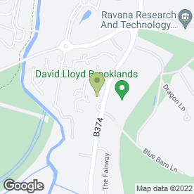 Map of Enterprise Rent-A-Car in Weybridge, surrey