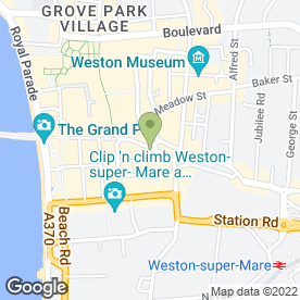 Map of New Look in Weston-Super-Mare, avon
