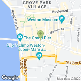 Map of Martin McColls in Weston-Super-Mare, avon