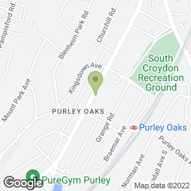 Map of Peugeot - Robins & Day Croydon in SOUTH CROYDON, surrey