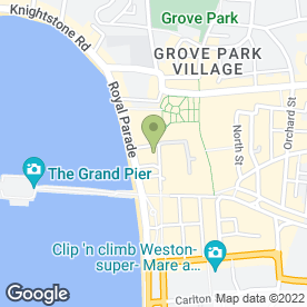 Map of Mr A in Weston-Super-Mare, avon