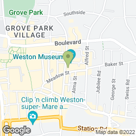 Map of MASQUERADE in Weston-Super-Mare, avon