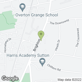 Map of Foot Clinic & Orthotic Centre in Sutton, surrey