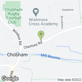 Map of F & L Services in Chobham, Woking, surrey