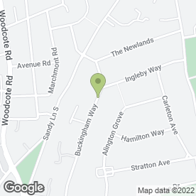 Map of Woodpecker Carpentry in Wallington, surrey