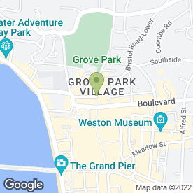 Map of Greggs in Weston-Super-Mare, avon