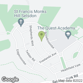 Map of Fake It By Donna (Mobile Spray Tanning) in South Croydon, surrey
