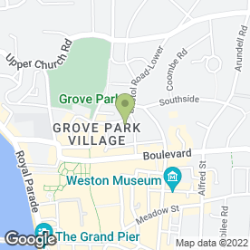 Map of Phoenix Window Cleaning in Weston-Super-Mare, avon