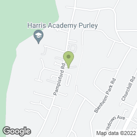 Map of Anne Nelson Vets in South Croydon, surrey