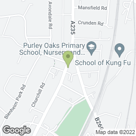 Map of Cherrill Print in South Croydon, surrey