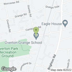 Map of Sutton Martial Arts Academy in Sutton, surrey