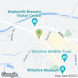 Map of David Owen & Co in Devizes, wiltshire