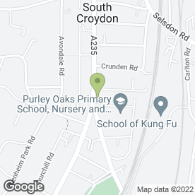 Map of Today's Cafe in South Croydon, surrey