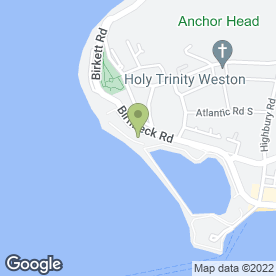 Map of Daunceys Hotel in Weston-Super-Mare, avon