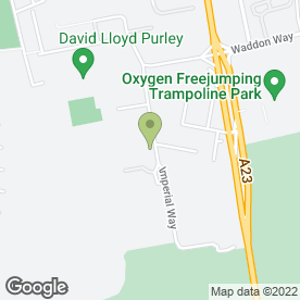 Map of Lynplan Upholstery Ltd in Croydon, surrey