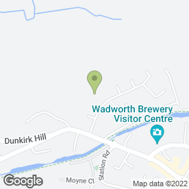 Map of The Lansdowne Surgery in Devizes, wiltshire