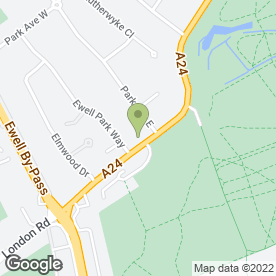 Map of Movers Removal Service in Ewell, Epsom, surrey