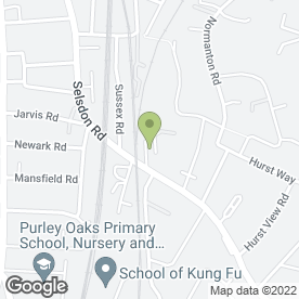 Map of Deben Buildbase in South Croydon, surrey