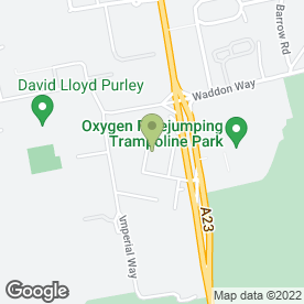 Map of Pulsar Print Management Ltd in Croydon, surrey