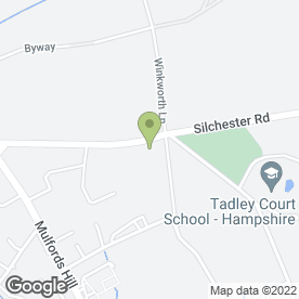 Map of Tadley Engineering Ltd in Tadley, hampshire